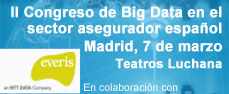 II Congreso de Big Data en el sector asegurador